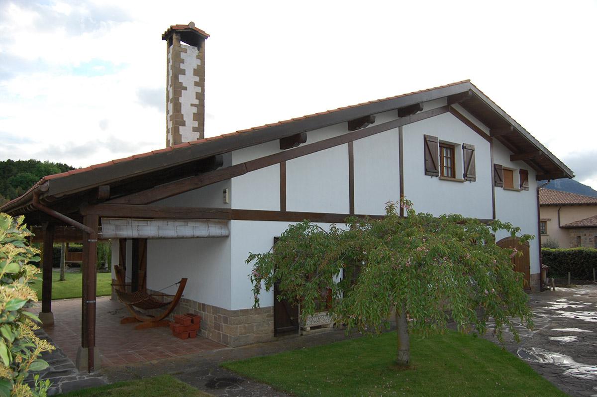 Vivienda unifamiliar en Salinas de Ibargoiti